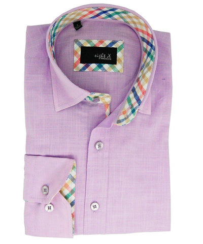 Modern Fit Paisley Cotton Dress Shirt in exciting Colors