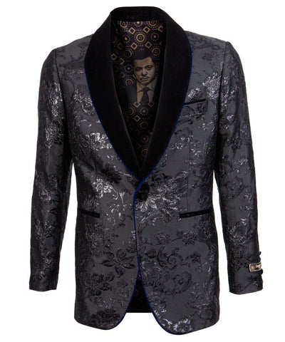 Royal Blue Slim Fit Empire Sports Coat Empire Suits - Paul Malone.com
