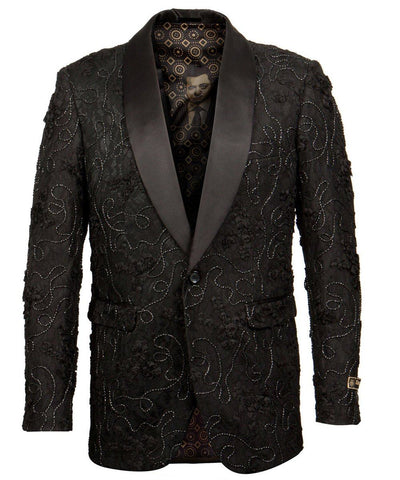 Slim Fit Shawl Collar Empire Jacket Empire Suits - Paul Malone.com