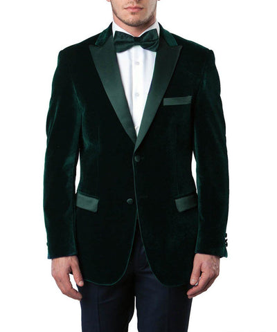 Formal Men's Velvet Tuxedo Jacket Tazio Suits - Paul Malone.com