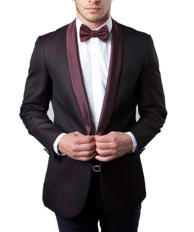 Festive Tuxedo Jacket wit Shawl Lapel Tazio Suits - Paul Malone.com