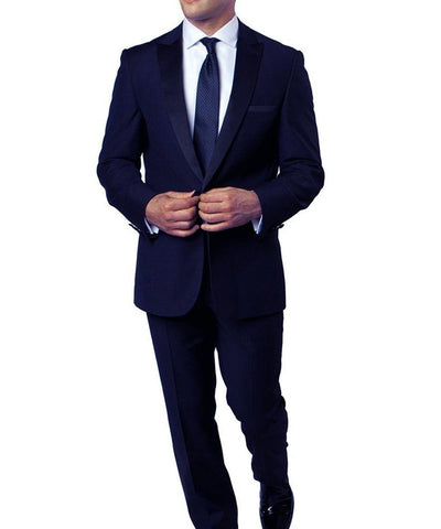 Formal Slim Cut Men's Tuxedo Suit Bryan Michaels Suits - Paul Malone.com