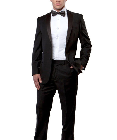 The Essential Slim Men's Tuxedo Bryan Michaels Suits - Paul Malone.com