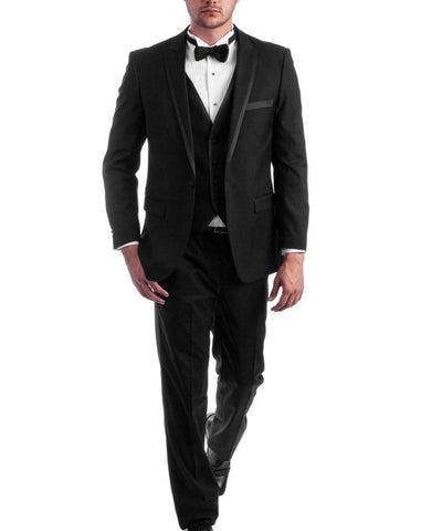Fashion Slim Fit Formal Tuxedo Tazio Suits - Paul Malone.com