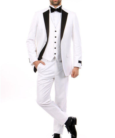 The Classic 3 piece Men's Formal Tuxedo Bryan Michaels Suits - Paul Malone.com