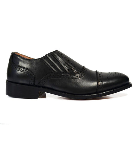 FELIX Full Leather Brogue Oxfords by Paul Malone