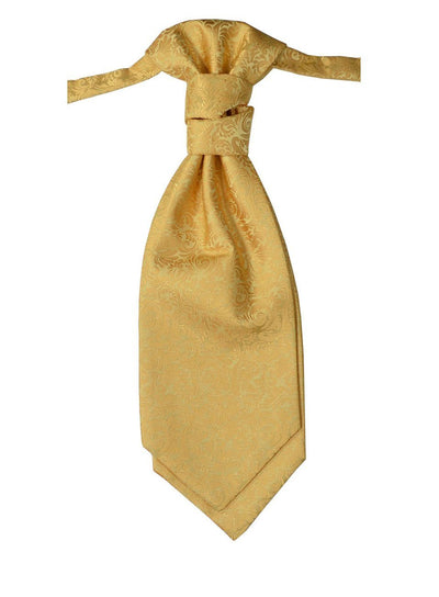 Gold Cravat Paul Malone Cravat - Paul Malone.com