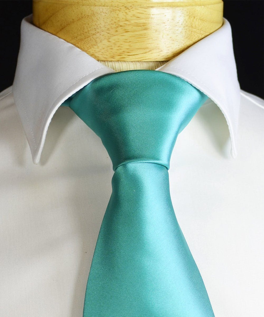 Moonlight Jade Necktie and Pocket Square Paul Malone Ties - Paul Malone.com