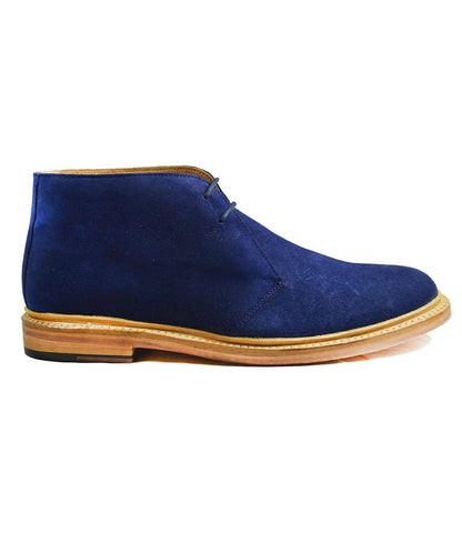 Formal Royal Blue Tuxedo Shoes