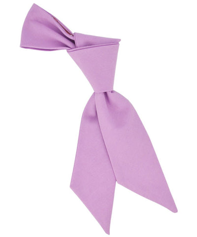 Solid Pink Lavender Cotton Women's Tie Tie Passion Womens Ties - Paul Malone.com