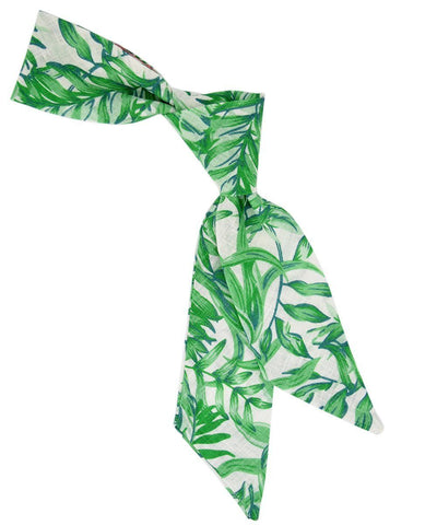 Aloe Green Patterned Women's Tie Tie Passion Womens Ties - Paul Malone.com
