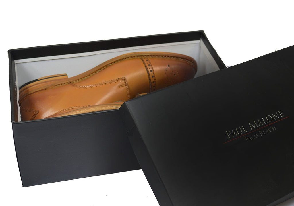 WILLIAMS Classic Brown Monk Strap Full Leather Dress Shoes Shoes Paul Malone