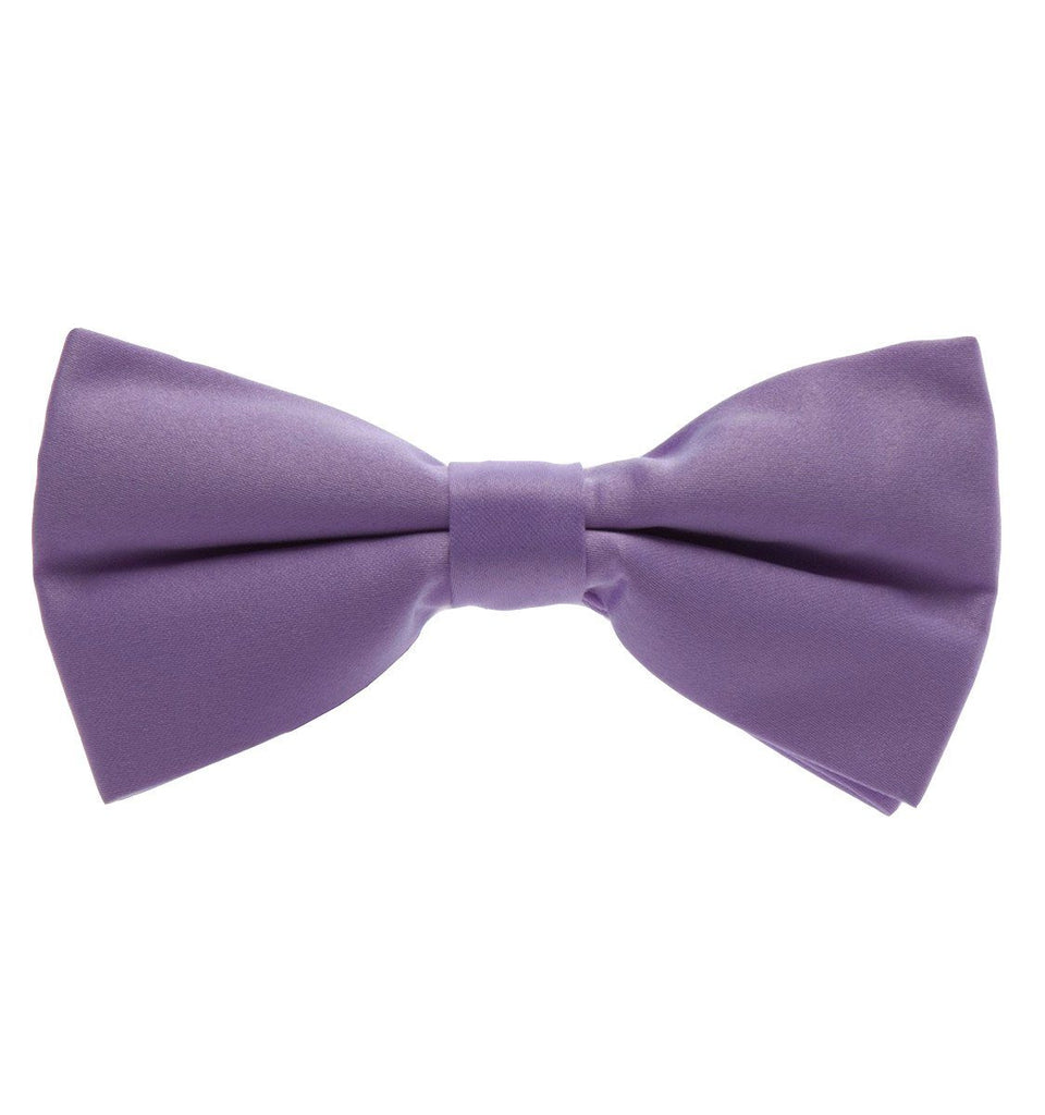 66a6df6262b7 Solid Lilac Pre-Tied Bow Tie Paul Malone Bow Ties - Paul Malone.com ...