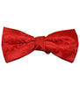 True Red Paisley Bow Tie Paul Malone Bow Ties - Paul Malone.com