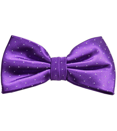 Purple Silk Bow Tie by Paul Malone Paul Malone Bow Ties - Paul Malone.com
