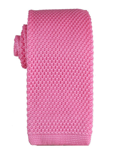Solid Pink Knit Tie by Paul Malone Paul Malone Ties - Paul Malone.com