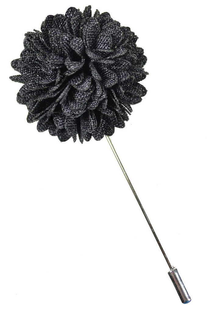 Black Lapel Flower Paul Malone  - Paul Malone.com