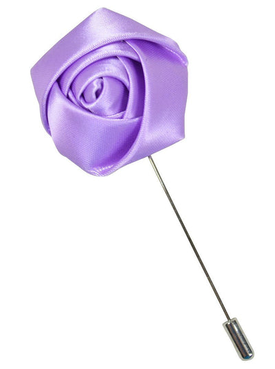 Lavender Rose Lapel Flower Paul Malone Lapel Flower - Paul Malone.com