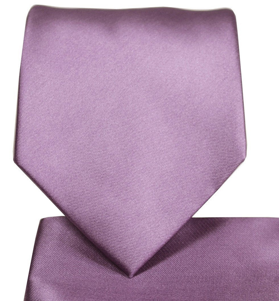 Solid Cadet Necktie and Pocket Square Paul Malone Ties - Paul Malone.com