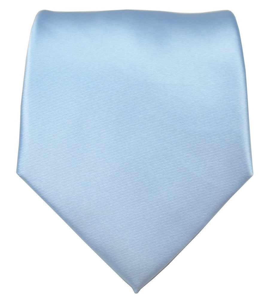 Baby Blue Necktie and Pocket Square Paul Malone Ties - Paul Malone.com