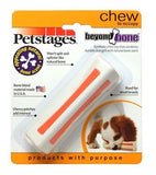 PETSTAGES BEYOND BONE Pet/Sm/Med/Lg Made USA Synthetic Won't Splinter Dog Toy