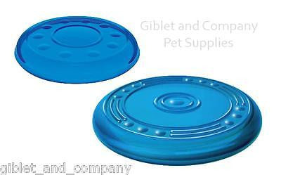 PETSTAGES ORKA FLYER Mini/Lg Durable Easy on Mouth TPR Disc Frisbee Dog Toy