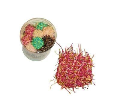 MINI THREAD BALLS - Lots 3/5/10 Multi-Color Rattle Thread Balls Kitten Cat Toys