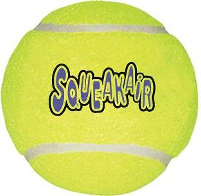 KONG Air Dog SQUEAKAIR BALLS - Squeaker Tennis Balls Dog Toys XS/S/M/L/XL Sizes