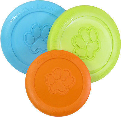 WEST PAW DESIGN ZISC sm/lg Flexible Made USANon-Toxic Frisbee Flyer Disc Dog Toy