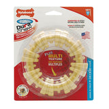 SOUPER Size NYLABONE DURA CHEW PLUS TEXTURED RING - Tough Durable Nylon Dog Chew