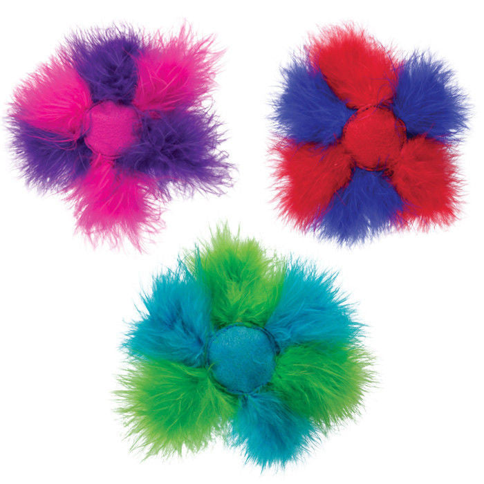 KONG BAT-A-BOUT BOA CAT TOY Feathers Plush Ball Teeters Totters Catnip Wobbles