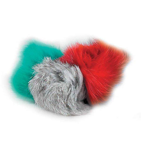 FUR BALLS - Lots 3/5/10/24/48 Colors Soft Real Fur Puffy Fluffy Cat Kitten Toys