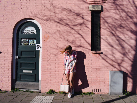 by osquare wolf & whistle fashion blogger, travel, pink