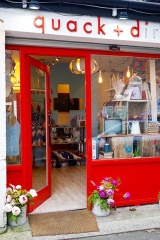 quack + dirk, ireland, fashion boutique, wolf & whistle, independent boutique
