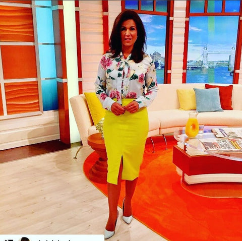Susanna Reid Good Morning Britain ITV style