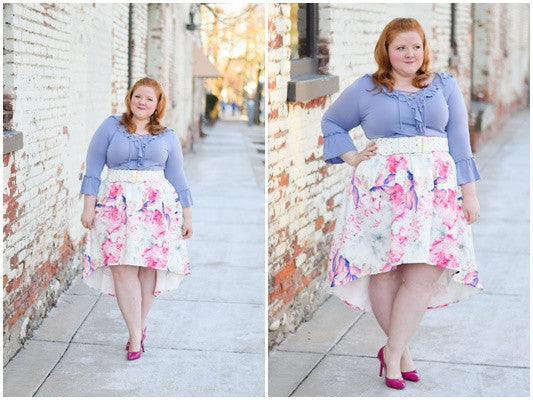 With wonder & whimsy, wolf & whistle, plus size blogger, curve, fashion blog