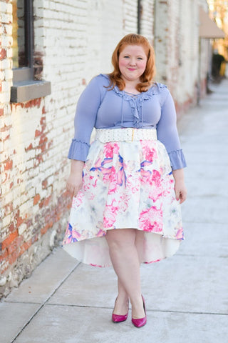 With wonder & whimsy, wolf & whistle, plus size blogger, fashion blog, curve