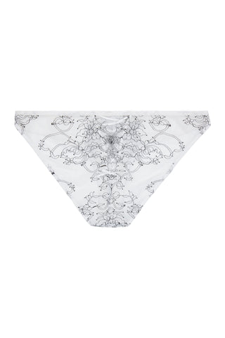 WW x Charlotte McKinney Brooke White Chord Detail Brief