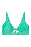 Bunny tie crop top mint Curve