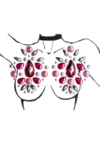 Pink Face Jewels