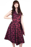 brocade dress Wolf & Whistle