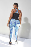 Curve Abstract Leggings