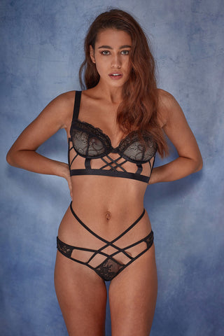 Assa lace cut out brief