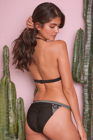 Wolf & Whistle black bikini brief