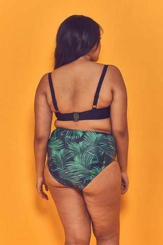 Palm Underwired Bikini Top Curve