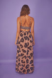 Leopard Wrap Beach Skirt