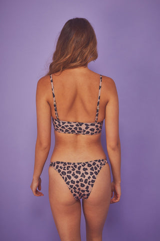 Brown Eco Leopard Brazilian Brief