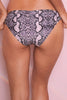 Snakeskin Cheeky bikini brief