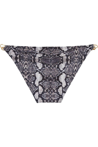 Eco Snakeskin chain hipster brief