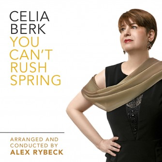 "Celia Berk on the cover of her album ""You Can't Rush Spring"""